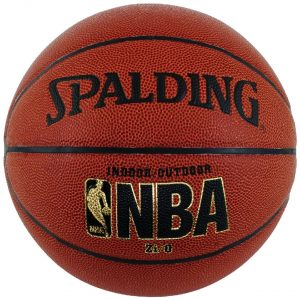 "Spalding NBA Zi/O Indoor Outdoor Basketball Official Size 7 (29.5"")"
