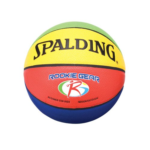 "Spalding Rookie Gear Indoor Outdoor Composite 27.5"" Youth Basketball"